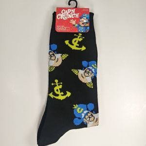 NWT Cap'n Crunch Socks